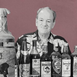 Stephen Remsberg is famous for his private collection of thousands of bottles of rum. (Image by Annene Kaye)