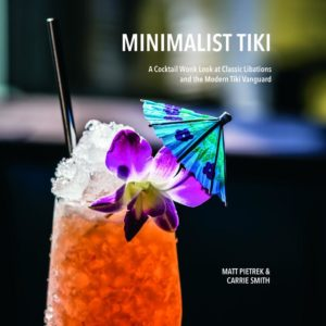 The new book by Matt Pietrek of CocktailWonk.com, who will teach a class on stocking your home bar
