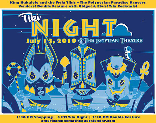 Tiki Night 2019 at the Egyptian Theatre