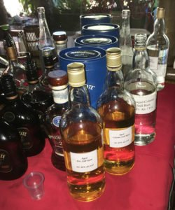 Unblended rums, both unaged and aged, were included in an Appleton Estate tasting hosted by master blender Joy Spence at The Mai-Kai on Aug. 14, 2019