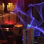 The Molokai bar is appropriately spooky for Hulaween 2018.