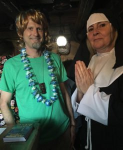 In search of Scooby-Doo, slacker Shaggy (aka Hurricane Hayward) enlists the aid of a sister of mercy (The Mai-Kai's Pia Dahlquist).