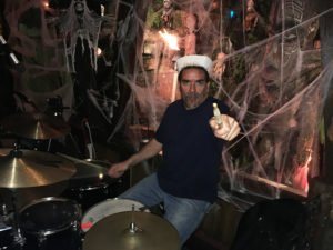 Drummer Mike Loschiavo keeps the beat for Slip and the Sea Men.