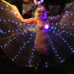 This flashy angel finished fourth in the Hulaween 2018 contest.