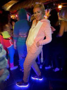 The Mai-Kai's Nina Michelle lights up the dance floor.