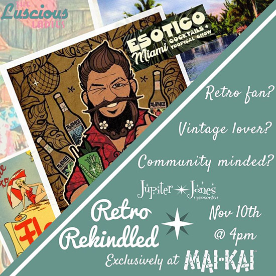 Retro Rekindled November Gathering: Euro Tiki