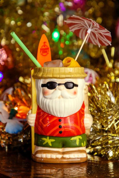 The signature Sippin' Santa cocktail and mug. (SippinSantaPopUp.com)
