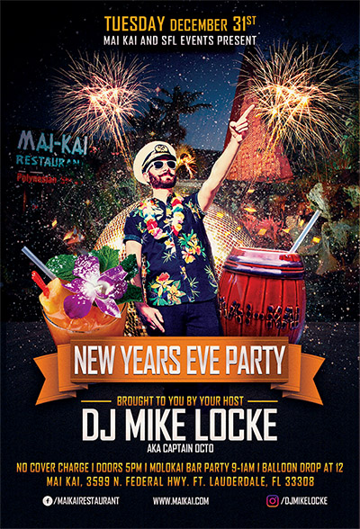 New Year's Eve at The Mai-Kai