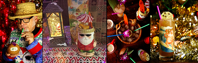 Sippin' Santa comes to town: Exclusive Beachbum Berry interview, plus festive cocktail recipes