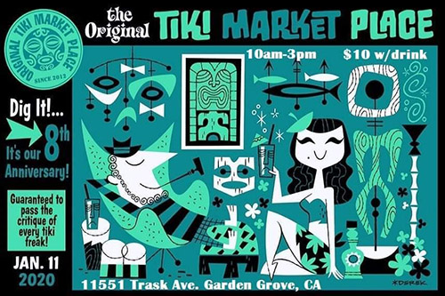 The Original Tiki Market Place 8th Anniversary