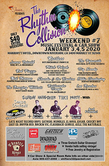 The Rhythm Collision Weekend #7
