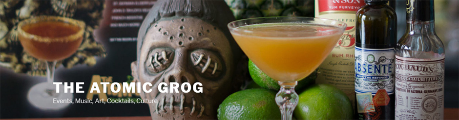 The Atomic Grog blog updated with new design
