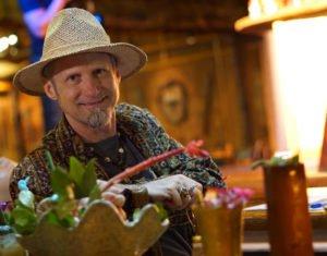 "Jim ""Hurricane"" Hayward, blogger at TheAtomicGrog.com and Mai-Kai cocktail expert"