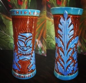 Archipelago's signature mug from Tiki Farm