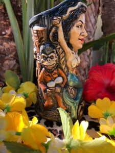 Bahi Hut's Tiki Fever mug, released in January 2021