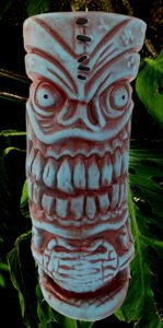 The Lava Letch mug by Big Toe, available from Frankie's Tiki Room.