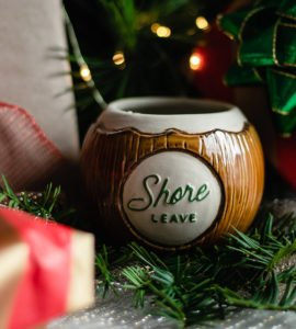 Shore Leave's coconut mug by Muntiki
