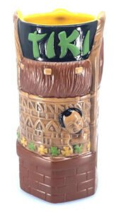 The second edition of the Ray's Mistake mug from the Tiki-Ti, designed by Thor and produced by Tiki Farm