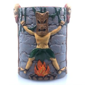 The new 40-ounce Uga Booga Mug by Munktiki for the Tiki-Ti in Los Angeles. Concept and design by John Markovich and Thor