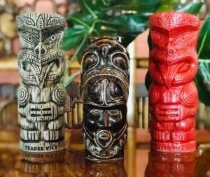 "A ""Tiki Mug 3-Pack"" from Trader Vic's"