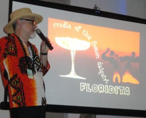 Beachbum Berry talks about the Daiquiri during a symposium at The Hukilau 2015 in Fort Lauderdale. (Photo by Hurricane Hayward)
