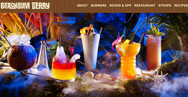 Beachbum Berry's official website