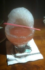 The Mai-Kai's Special Reserve Daiquiri. (Photo by Hurricane Hayward, June 2013)