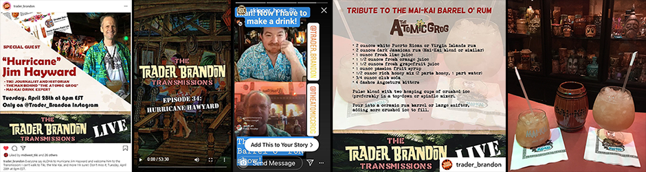 The Atomic Grog joins The Trader Brandon Transmissions