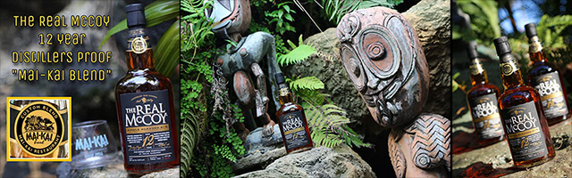 The Real McCoy 12-year-old Distillers Proof Mai-Kai Blend