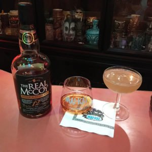 The Real McCoy 12-year-old Distillers Proof Mai-Kai Blend is great as a sipping rum or mixed in a premium Daiquiri