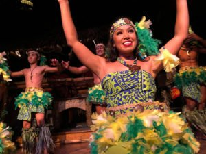 The Mai-Kai's Polynesian Islander Revue performs during The Hukilau 2019. (Photo by Jim Neumayer)