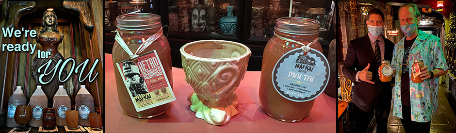 Cocktail quarts join gallons as The Mai-Kai expands takeout menu