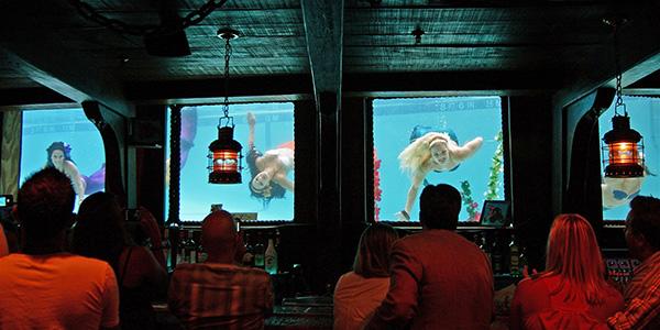 Live Mermaid Shows at The Wreck Bar