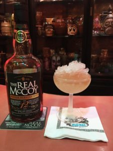 The Real McCoy Special Reserve Daiquiri in The Atomic Grog. (Photo by Hurricane Hayward, April 2020)