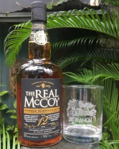 The second batch of The Real McCoy 12-year-old Distillers Proof Mai-Kai Blend is now available along with new signature glassware