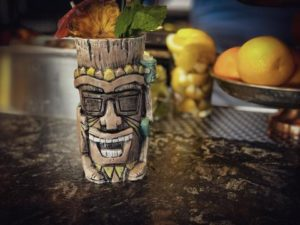 The official Tiki Trail mug by David Outland