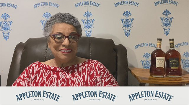Joy Spence, longtime master blender of Appleton Estate Rum, makes a surprise appearance (via video) at the Hulaweeen Drive-In Movie on Oct. 30