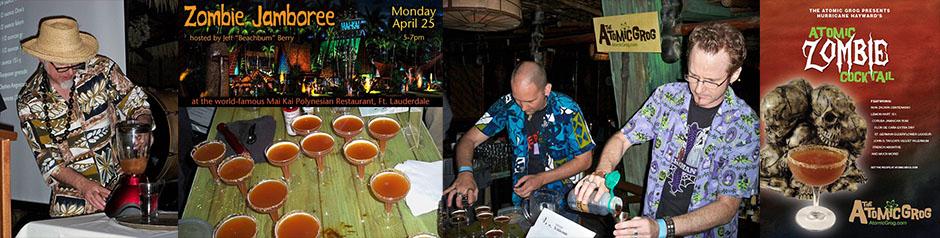 We be Jammin: Rum Renaissance Zombie fest at The Mai-Kai