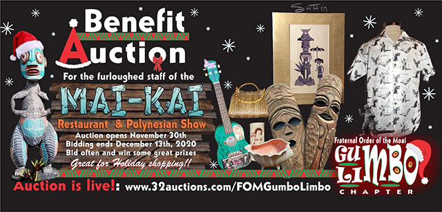 Benefit Auction for The Mai-Kai staff