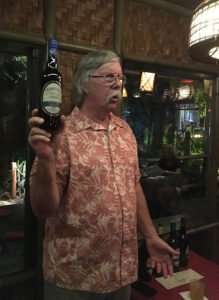 Ed Hamilton teaches a master class on his namesake rums at The Mai-Kai in Fort Lauderdale on Feb. 7, 2019. (Photo by Hurricane Hayward)