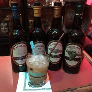 The Atomic Grog's interpretation of The Mai-Kai's Hamilton Navy Grog, December 2020. (Photo by Hurricane Hayward)