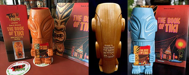 The Book of Tiki 20th Anniversary Mug by Shag