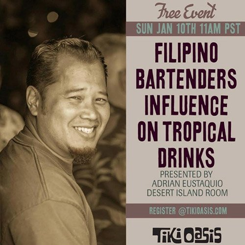 Filipino Bartenders' Influence on Tropical Drinks