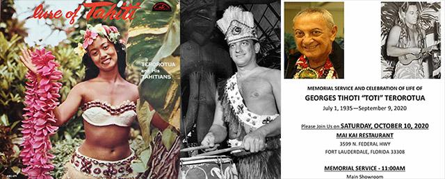Toti Terorotua of The Mai-Kai's Polynesian Islander Revue