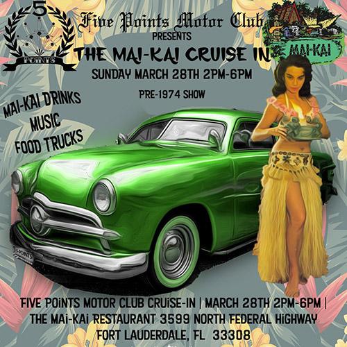 Cruise-In at The Mai-Kai