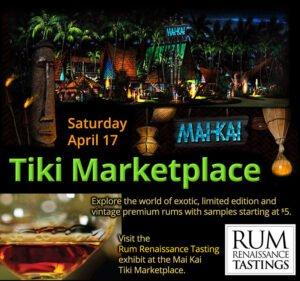 Miami Rum Renaissance Festival tasting at The Mai-Kai Tiki Marketplace