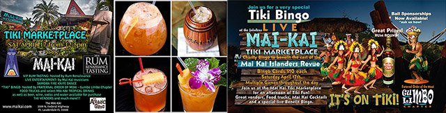 The Mai-Kai hosts first Tiki Marketplace featuring vendors, entertainers, cocktails, rum tasting and more