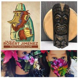 The Mai-Kai Tiki Marketplace vendors will include Robert Jimenez, Tom Fowner, and Dead Serious Cash Customs