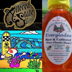 The Mai-Kai Tiki Marketplace vendors will include Altered State Tattoo, Lip Smacking Good Honey, and Kono Surf Art