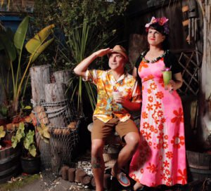 Baby Doe and Otto von Stroheim, founders and producers of Arizona Tiki Oasis. (Official photo)